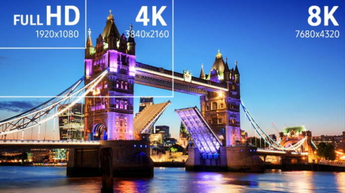 Samsung Full-HD-8K-4K