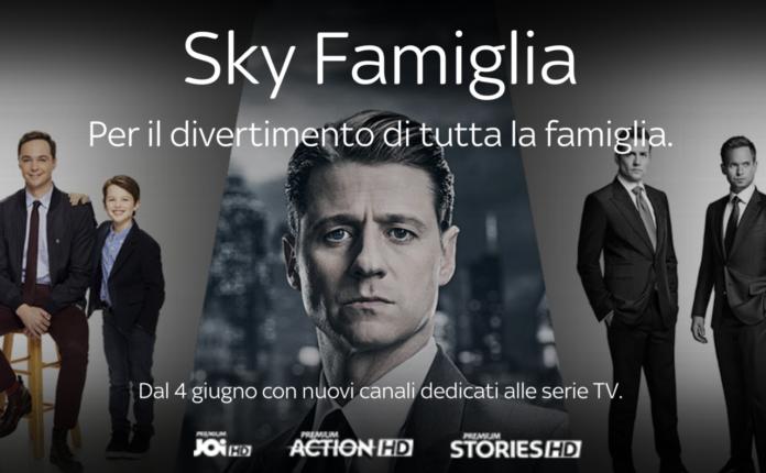 Su Sky Serie Tv Mediaset Premium