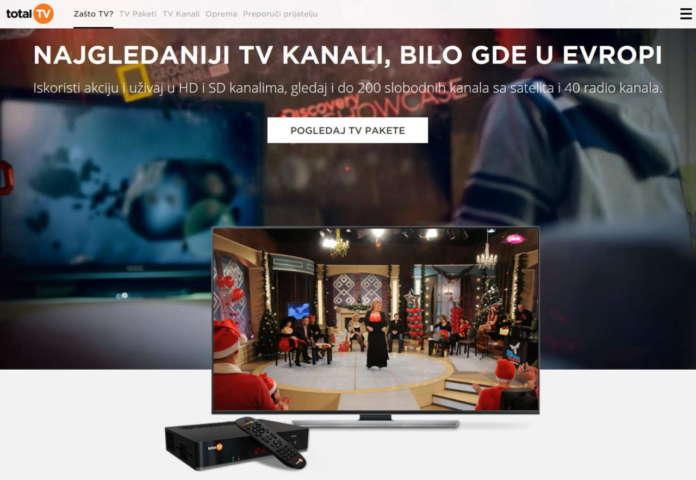 canali balcanici Total Tv