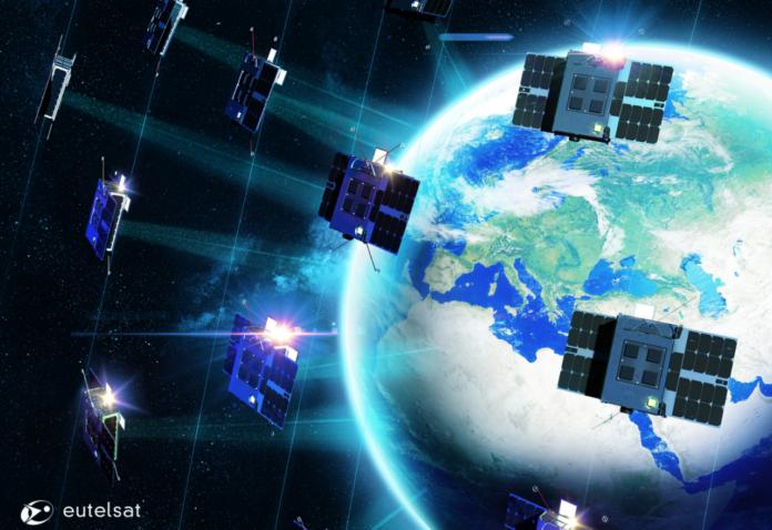 Fascia di Clarke Eutelsat's ELO constellation of nano-satellites