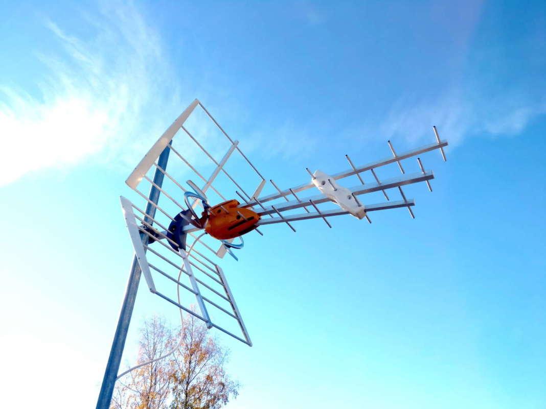 Antenne digitale terrestre DVB-T2