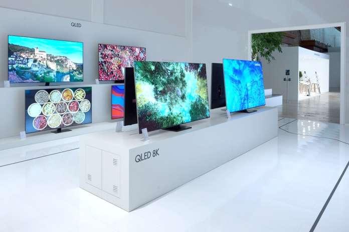 Display TV - Switch-off - Samsung
