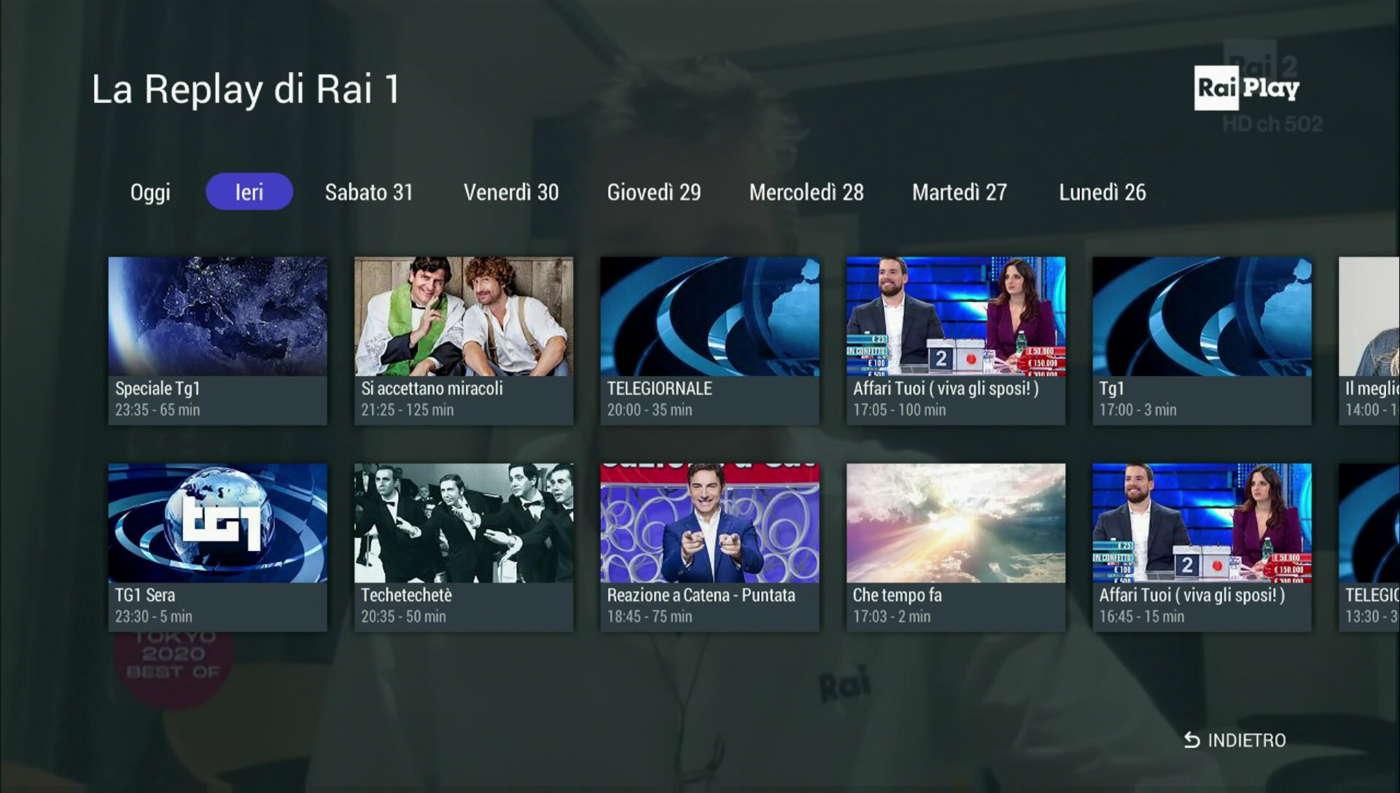 RaiPlay MHP-HbbTV