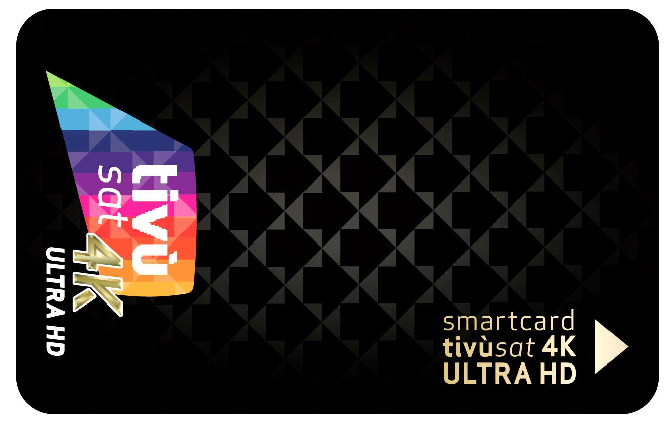 Smart card tivùsat 4K