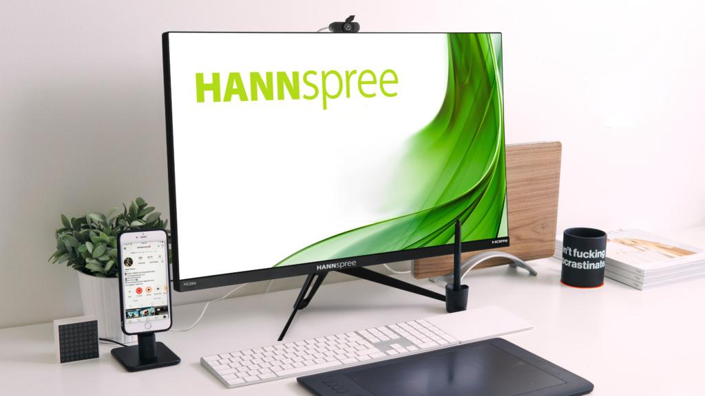 Hannspree, nuovi monitor da 28″ con schermo 4K UHD