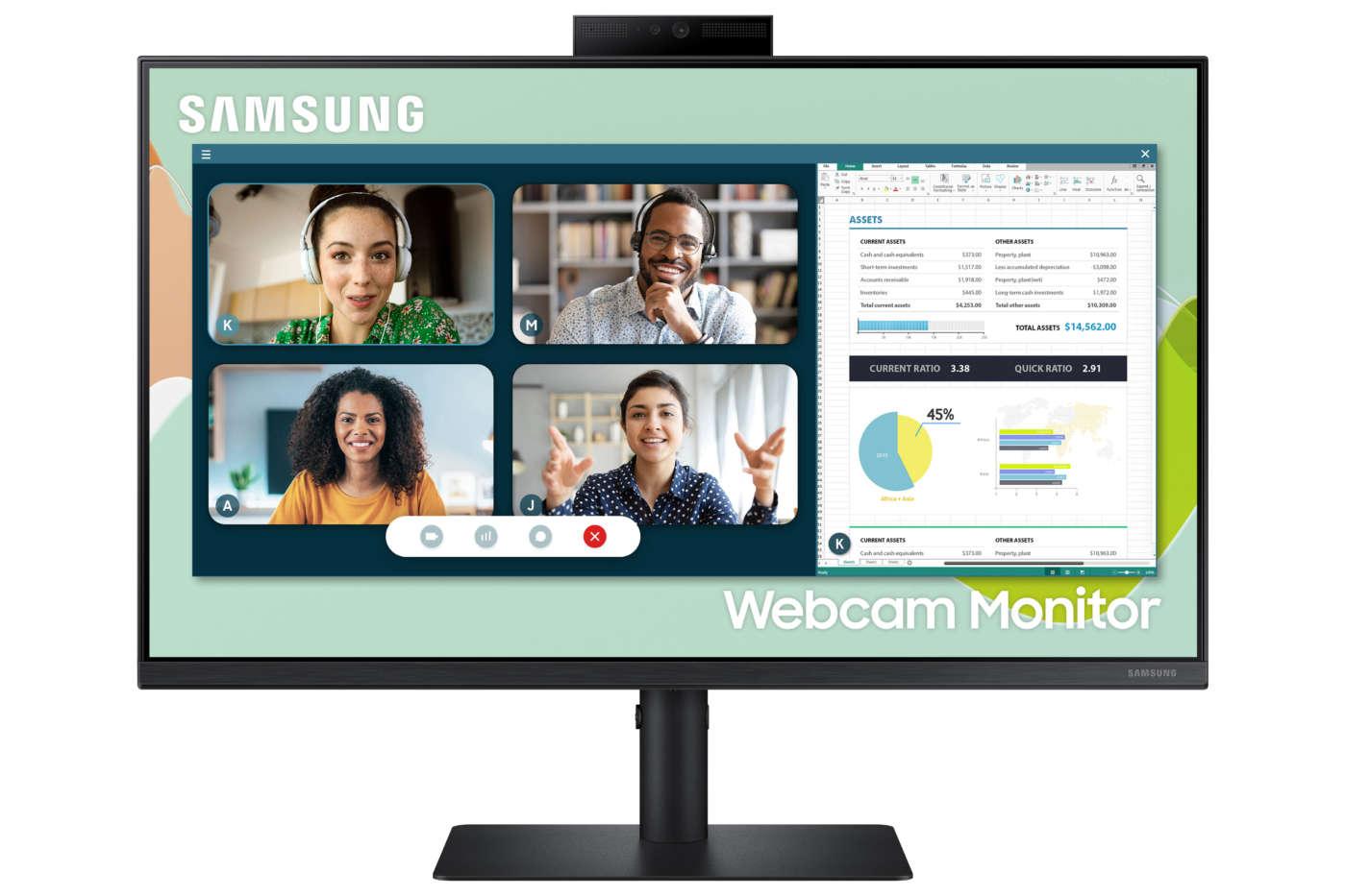 Webcam Monitor Samsung S4