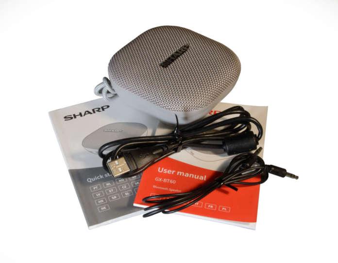 Speaker Buetooth Sharp GX-BT60