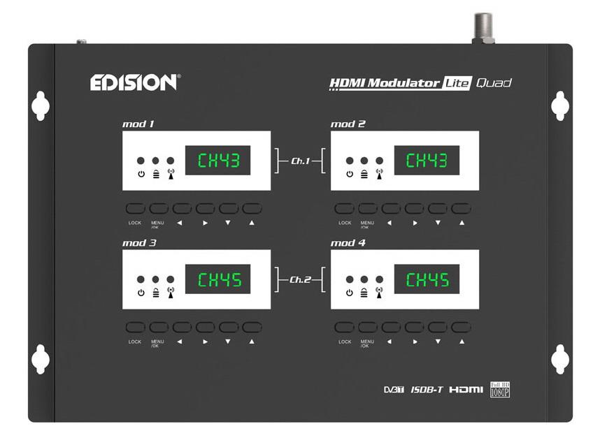 Modulatore Edision Lite Quad